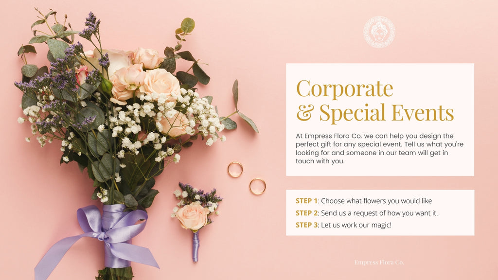 corporate and special events empress flora request