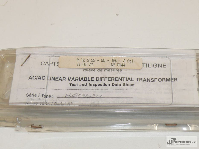 NEU M12 S 55-50-150-A Variable Differential Transformer