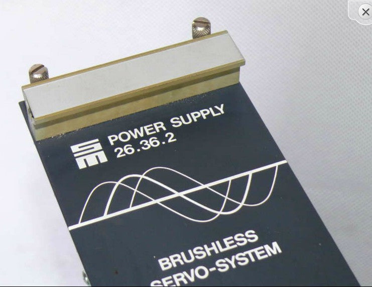 SIEB & MEYER Sinudyn Power Supply 26.36.2 Brushless 26.37.04A2