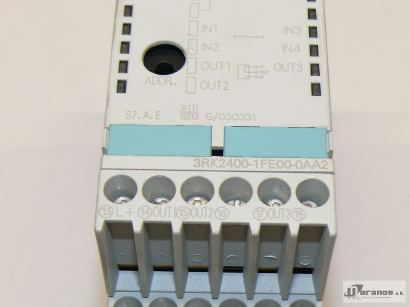 OVP Siemens 3RK2400-1FE00-0AA2 AS-Interface Modul 3RK2 400-1FE00-0AA2