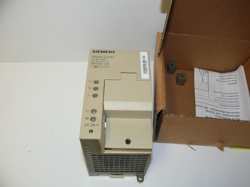 Siemens 6EW1380-0AB Sipac Stromversorgung / Power Supply 6EW1 380-0AB E: 02