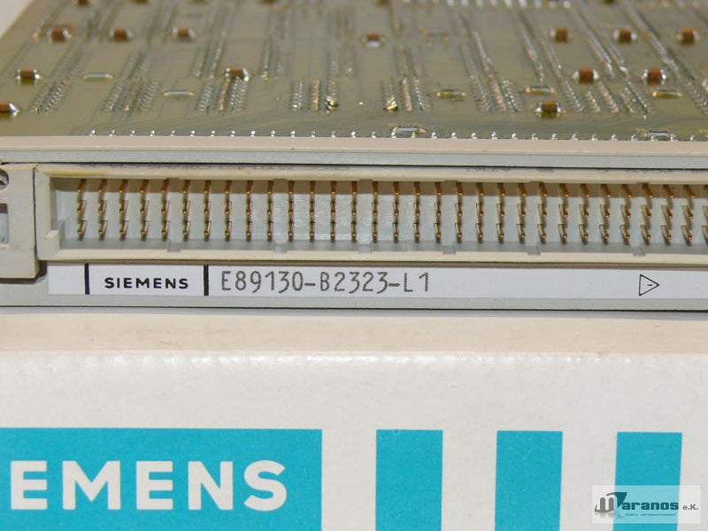 Siemens E89130-B2323-L1 Bus Interface Module E89130B2323L1