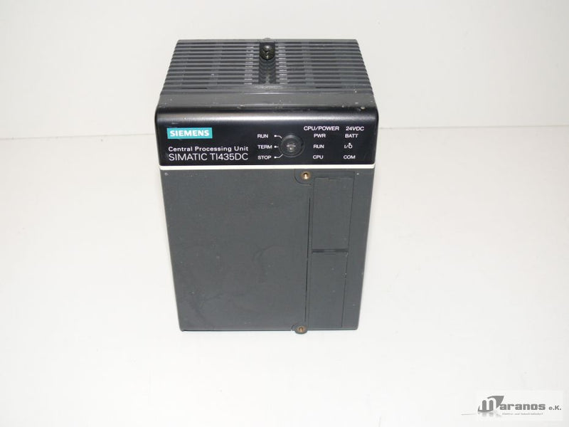 Siemens Simatic CPU TI435DC / TI 435 Central Processing Unit LR91179 / 9308