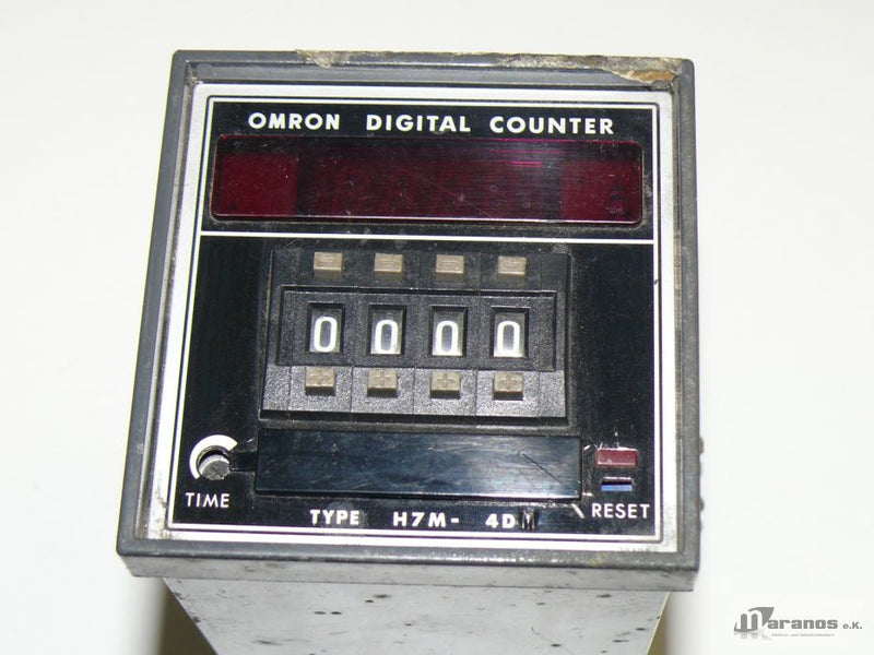 Omron Digital Counter H7M-4DM