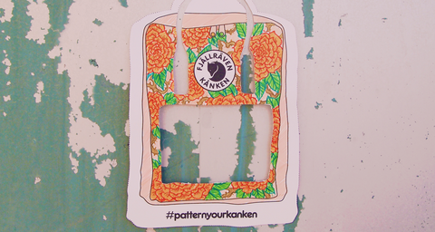 Win A Backpack From Fjallraven's Kanken Collection #pattern yourkankenSEA