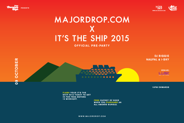 MAJORDROP.COM X IT'S THE SHIP Official Pre-Party 2015