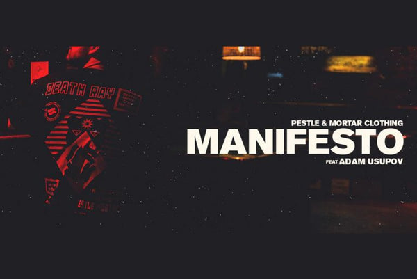 Internal Artist Series: Manifesto By Adam Usupov