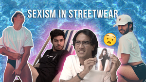 Men Recreate Sexy Female Streetwear Poses