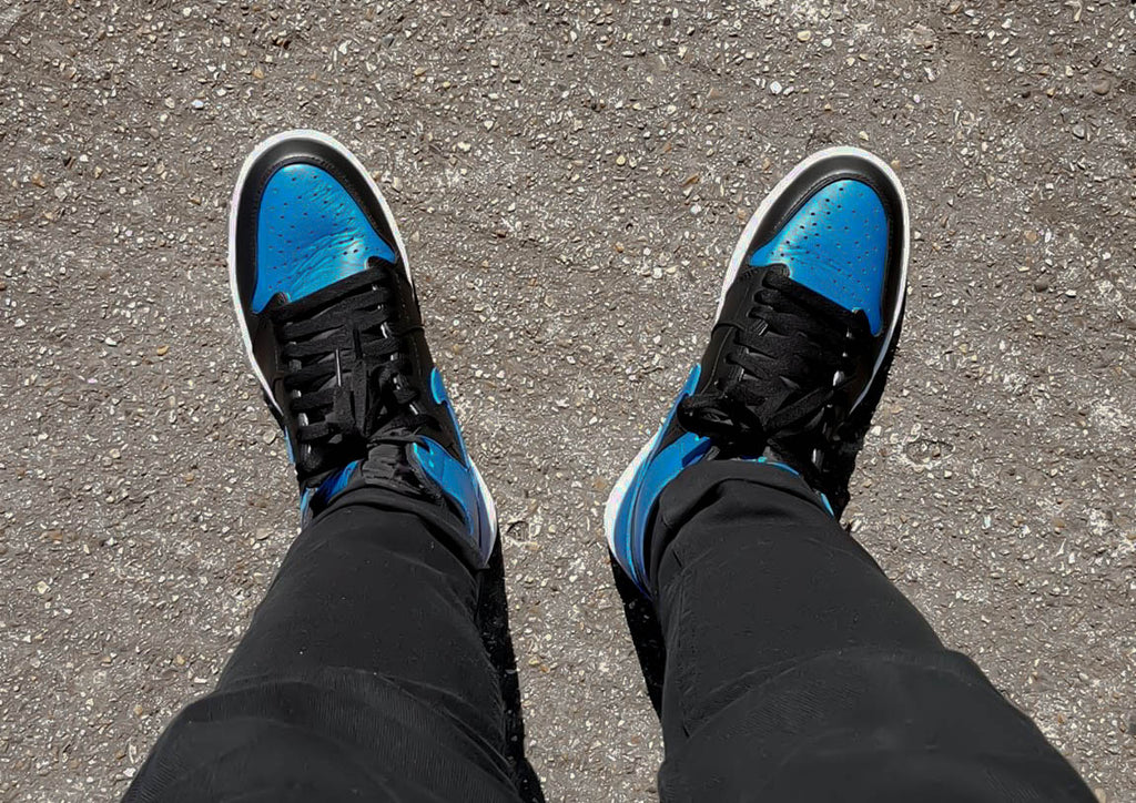 """13defb8bc616 Nike Air Jordan 1. Jordans are fo sho the """"go-to"""" when you wanna change up  your look and wear a pair of high top sneakers. They re great quality since  ..."""