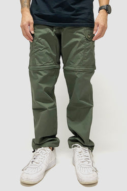 Strike Logo Convertible Cargo Pants Army Green