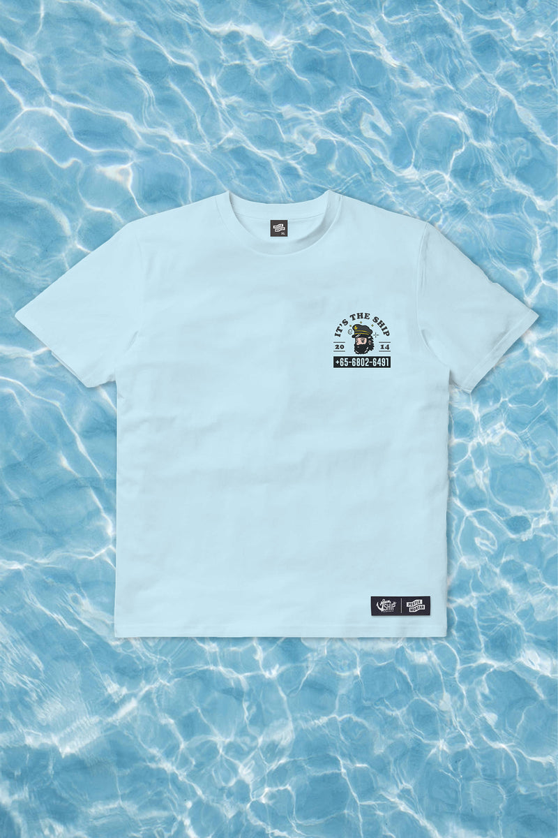 PMC X ITSSG Shipdrawals Tee Blue