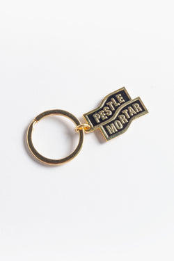 Flying Mechanic Keychain Gold