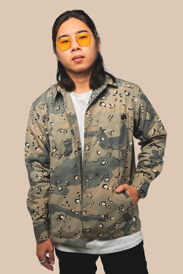 Grand Slam Work Jacket Desert Camo