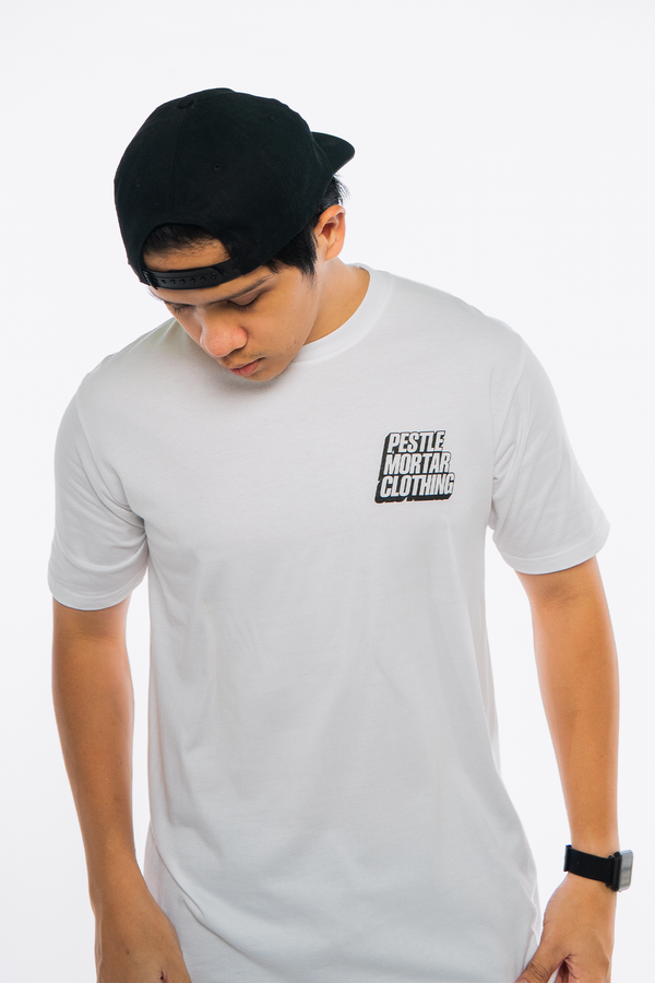 The Malaysia Post Tee White