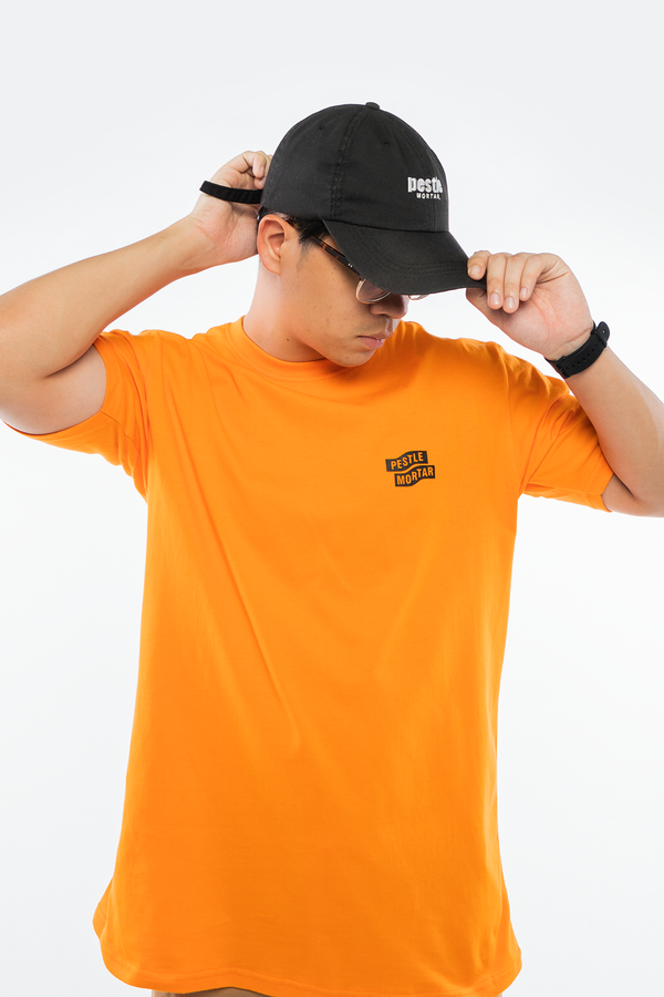 Flying Mechanic Tee Orange