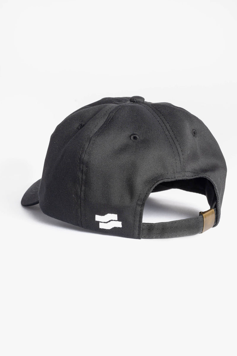 Grand Slam Logo Dad Cap Black