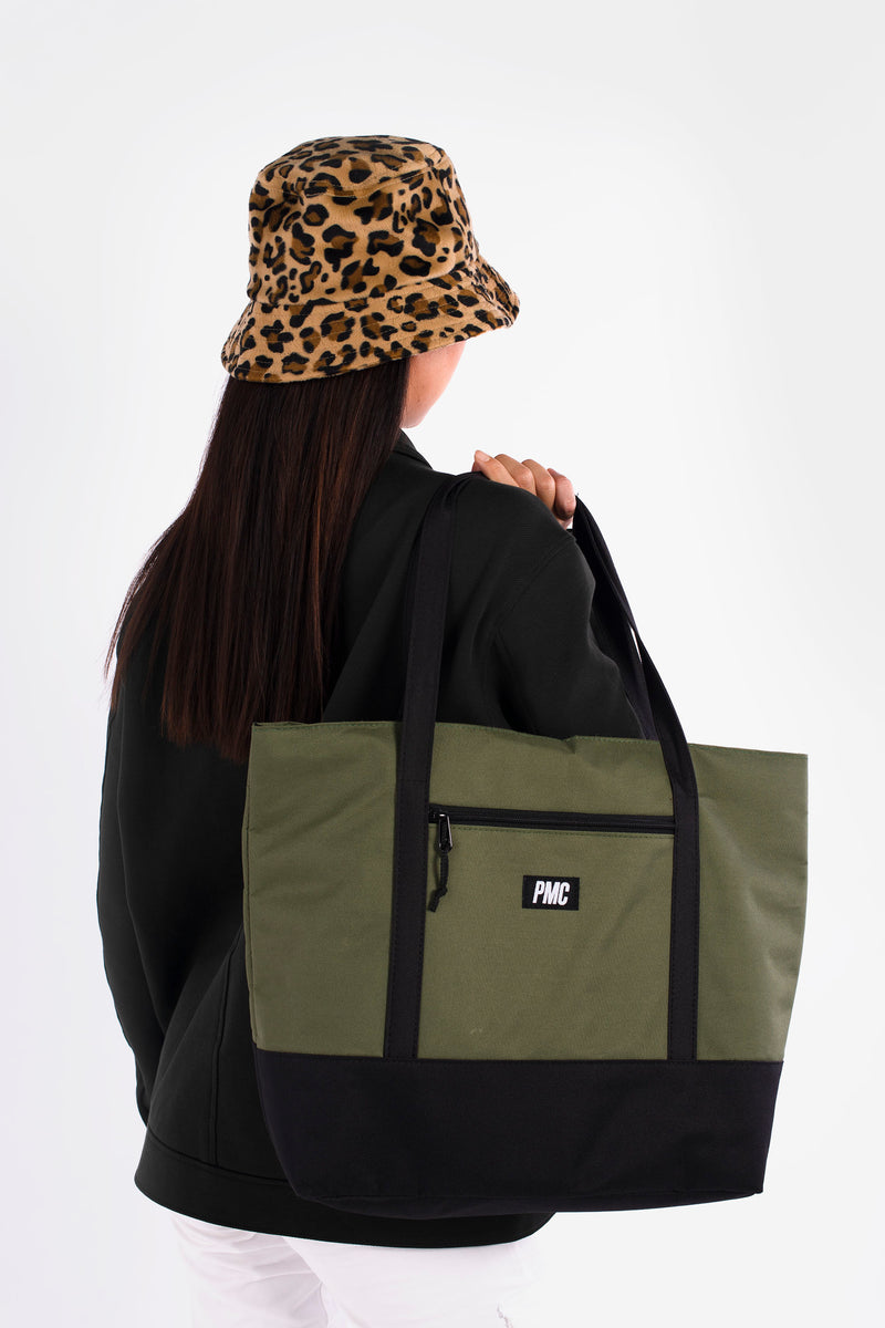 Strike Logo Tote Bag Green