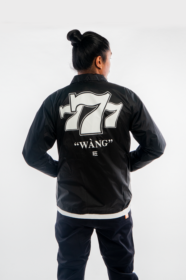 Lucky 7 Jacket Black