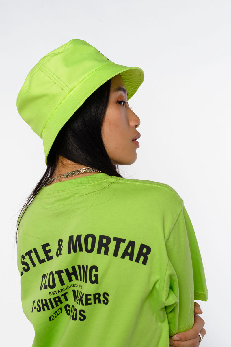 Flying Mechanic Tee Acid Lime