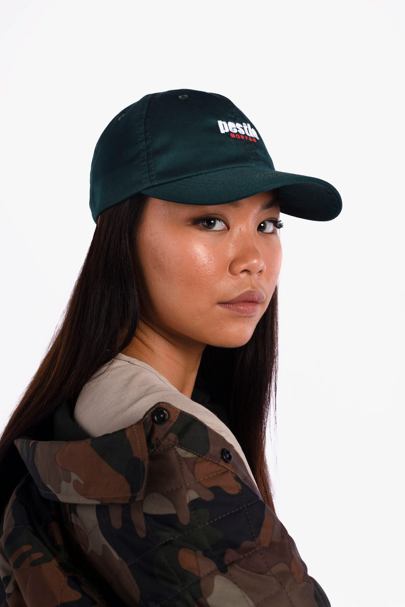 Grand Slam Logo Dad Cap Green