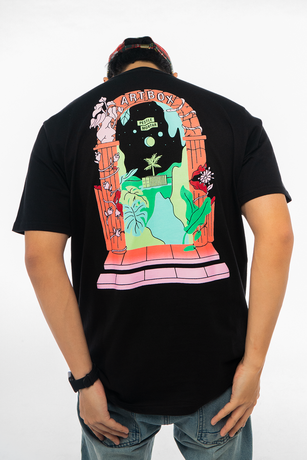 Artbox SG x PMC Gates Of Eden Tee Black