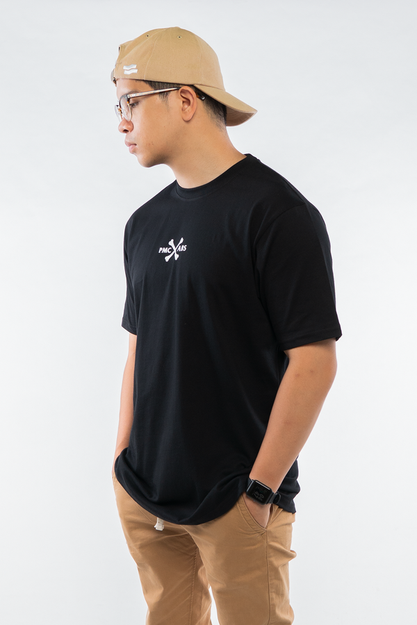 PMC x Akin Barber Mechanic Tee Black