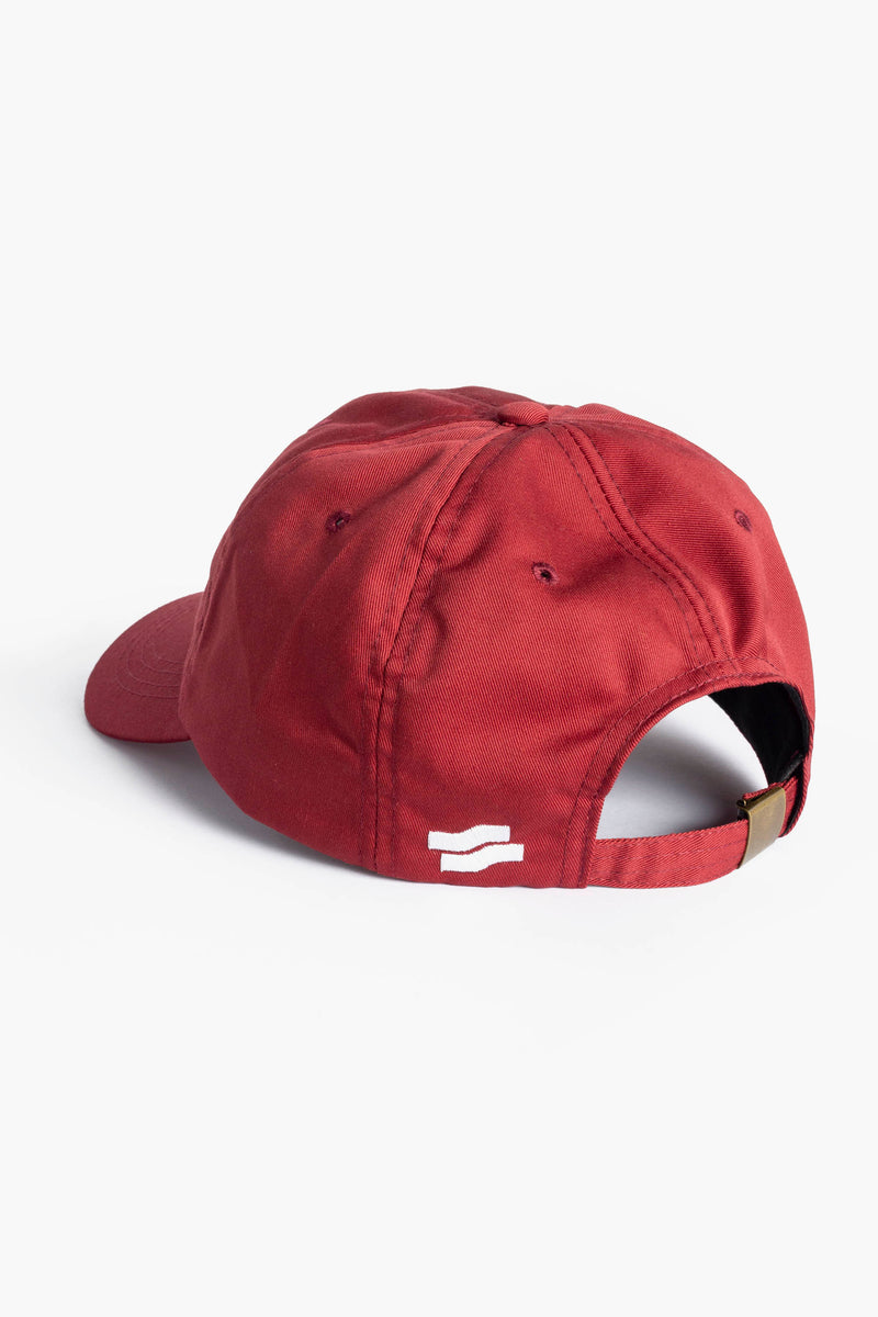 Grand Slam Logo Dad Cap Burgundy