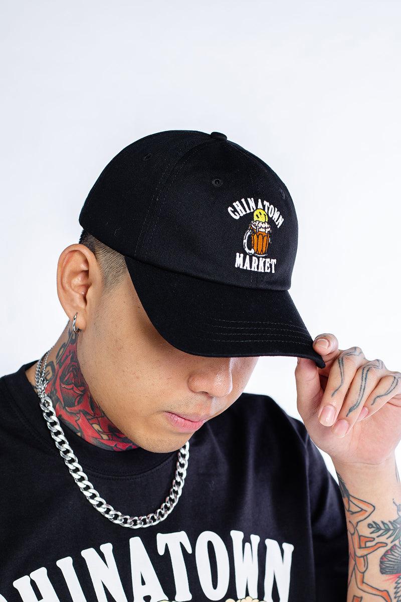Tarik Pong 6 Panel Cap Black