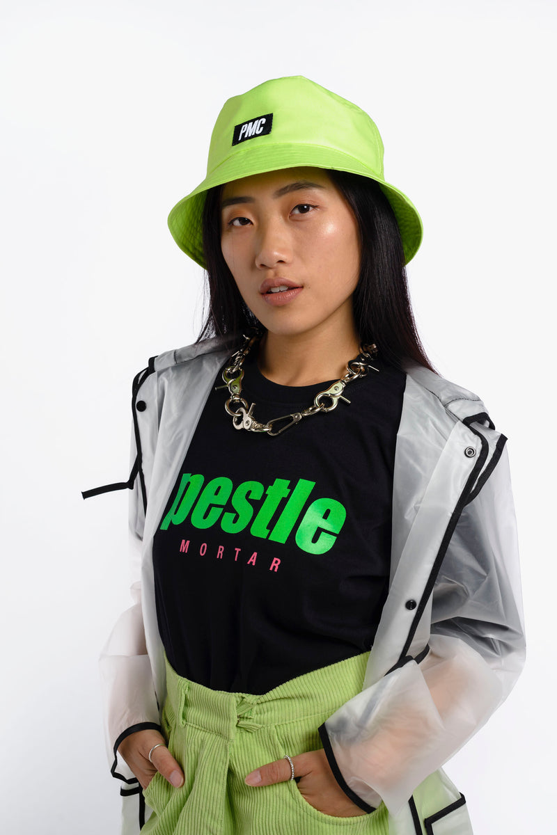 Strike Logo Bucket Hat Acid Lime