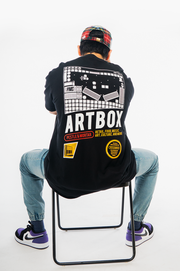 Artbox x PMC Entertainment System Tee Black