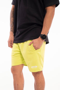 Grand Slam Sweat Shorts Acid Lime