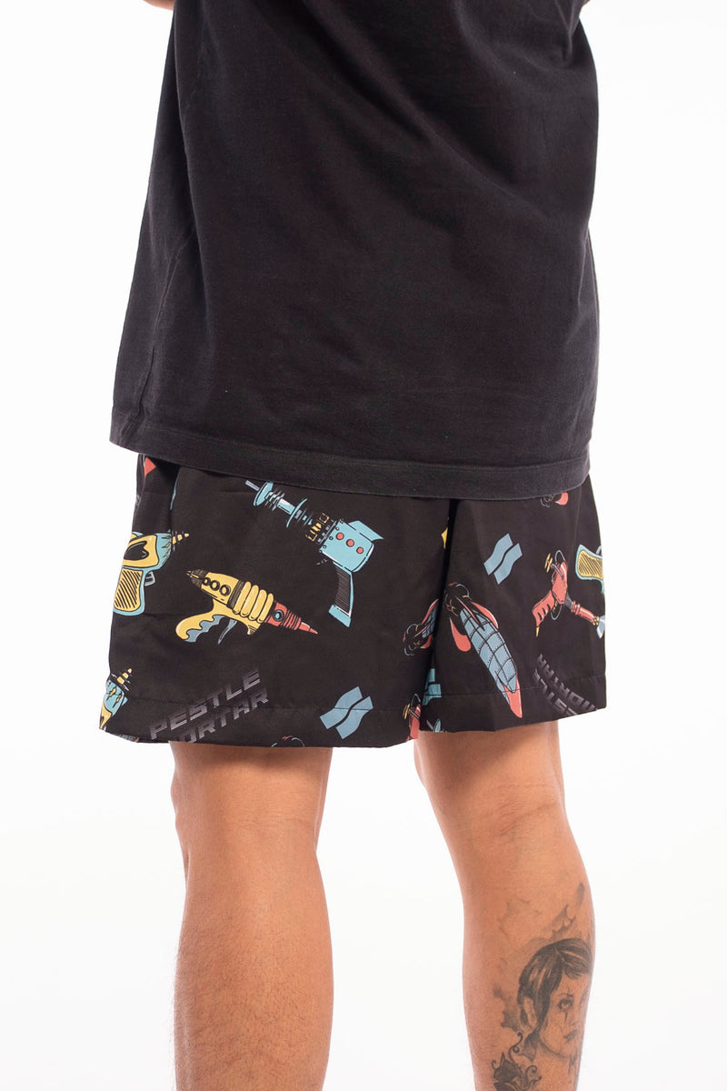Shot Pants Shorts Black
