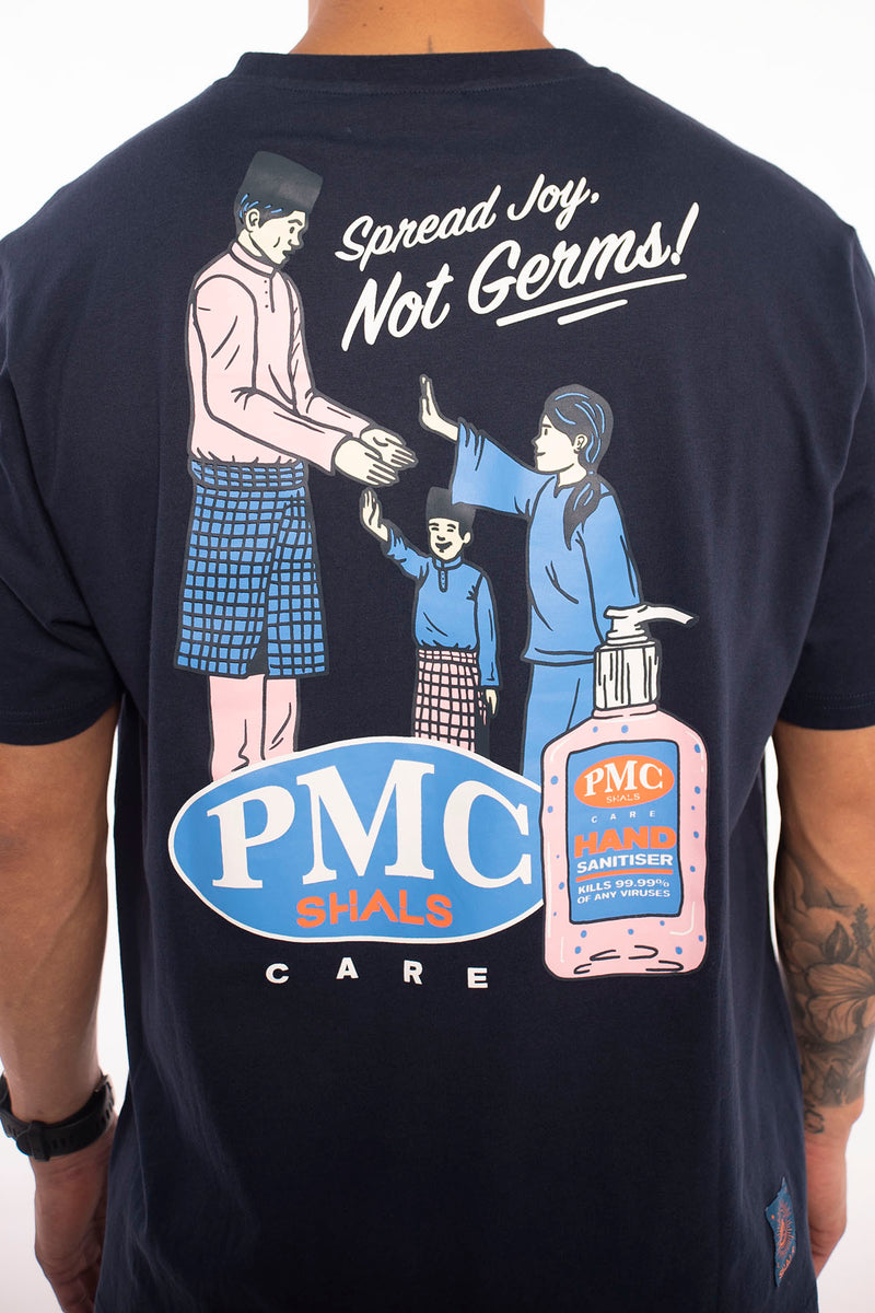 PMC x SHALS Sanitizer Tee Navy