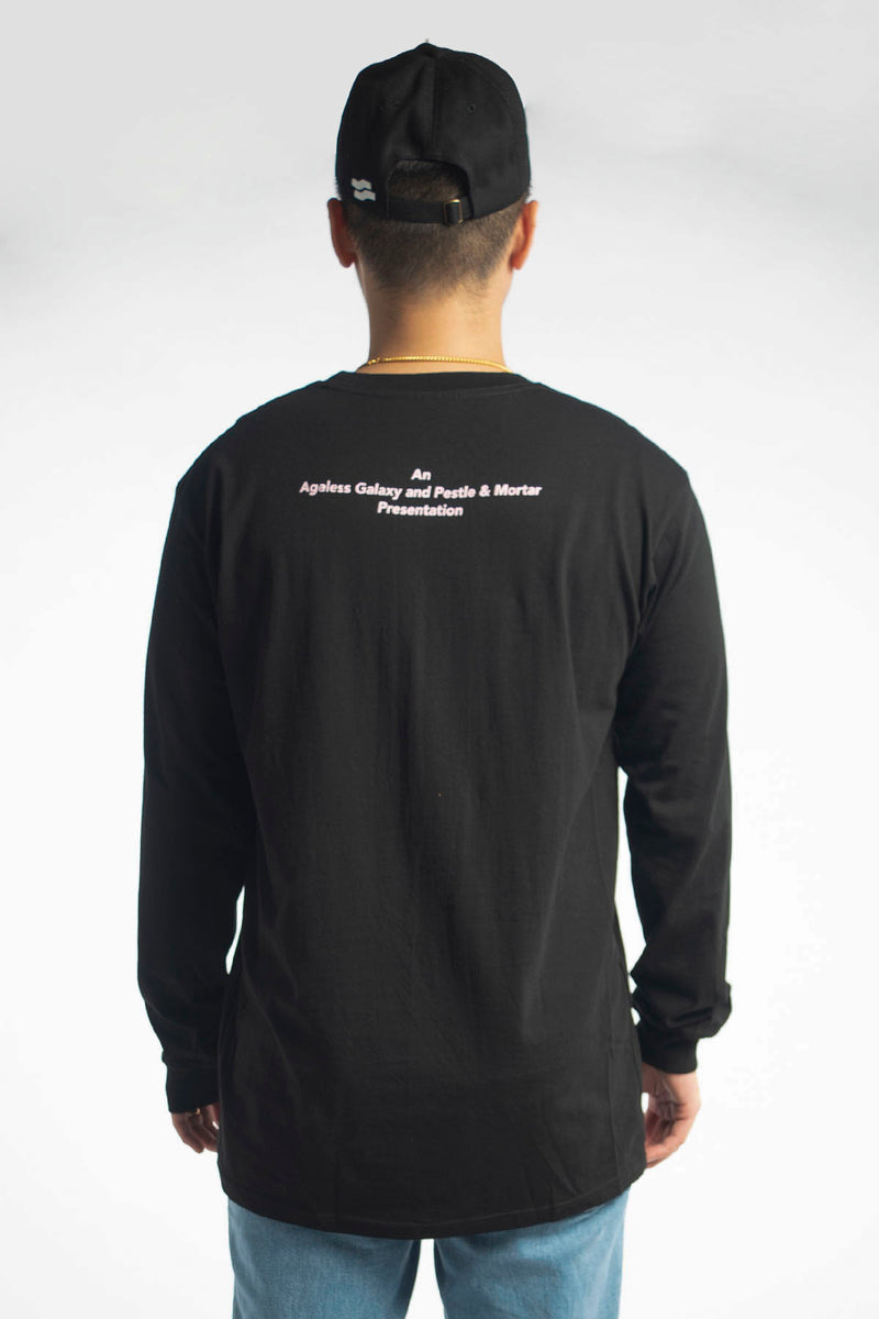 Nutmeg, Spices & Every-tin Nice Long Sleeve Tee Black