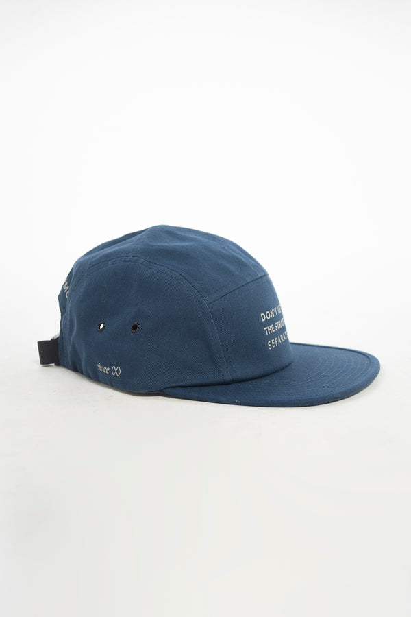 Don't Let the Straits Separate Camp Cap Navy