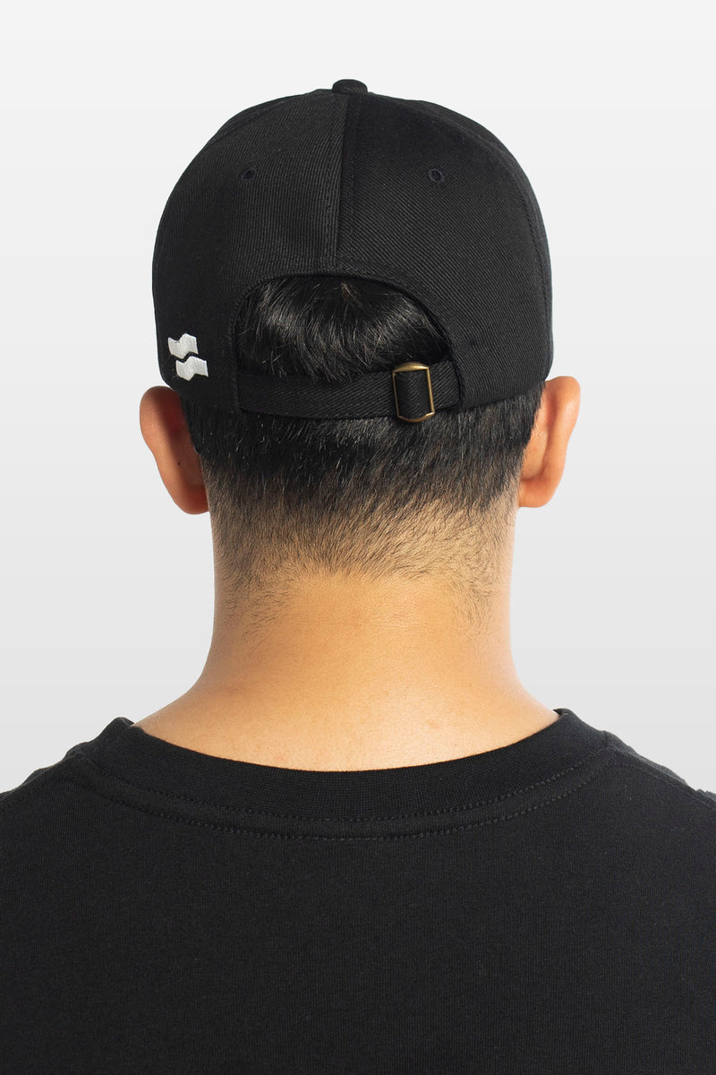 Strike Dad Cap Black