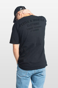 Flying Mechanic Tee Blacked Out