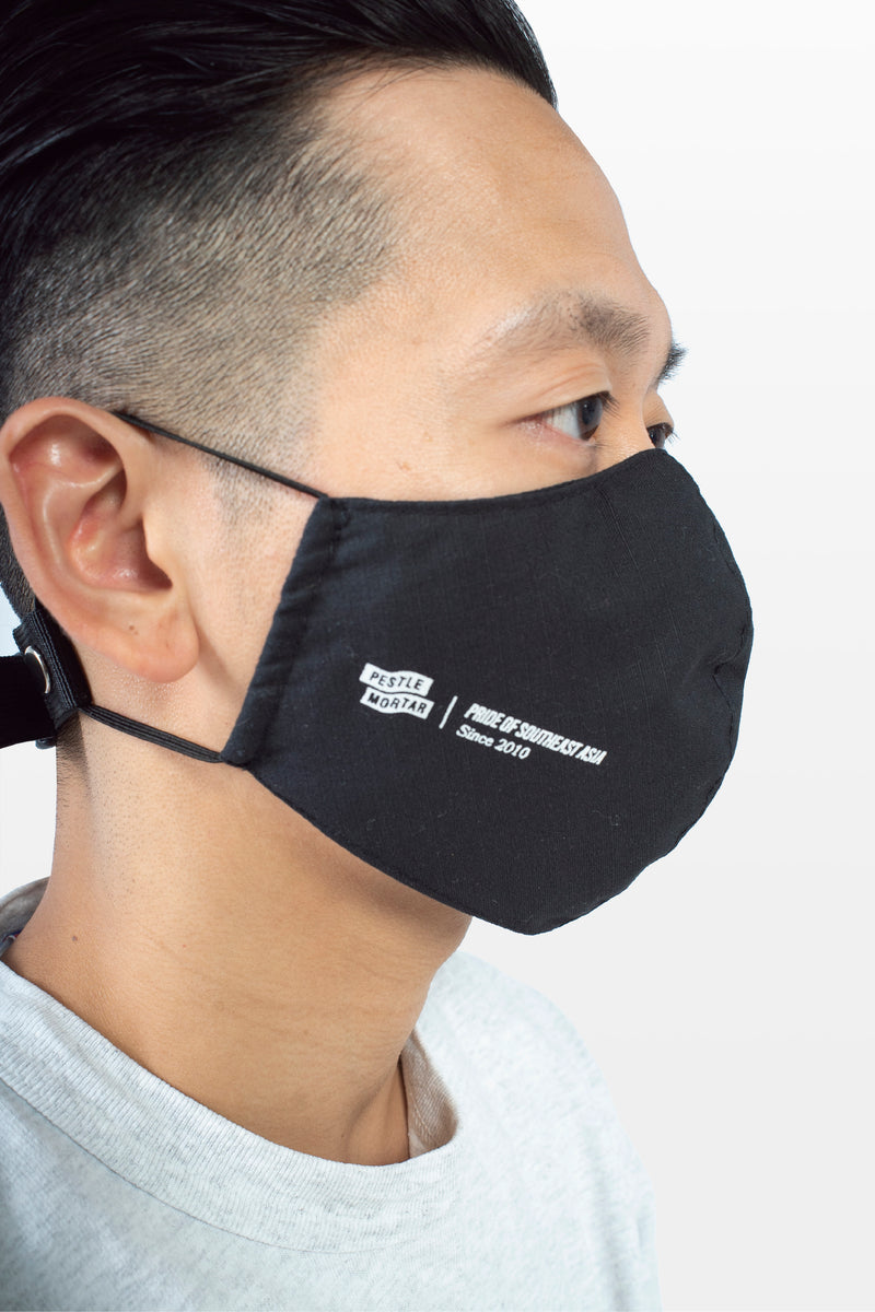 Frontal Utility Face Mask Black