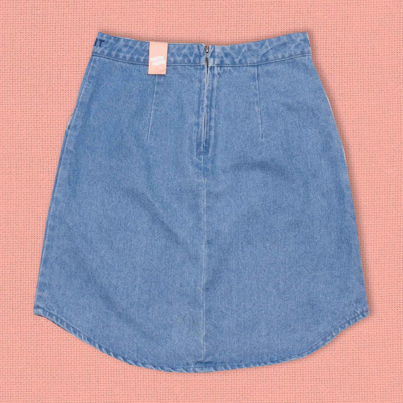 Halcyon Mini Skirt Denim