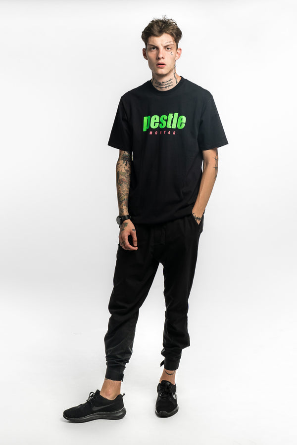 Grand Slam Logo Tee Black