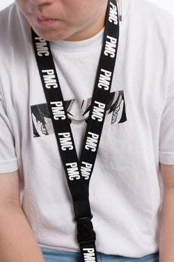 Strike Logo Lanyard Black