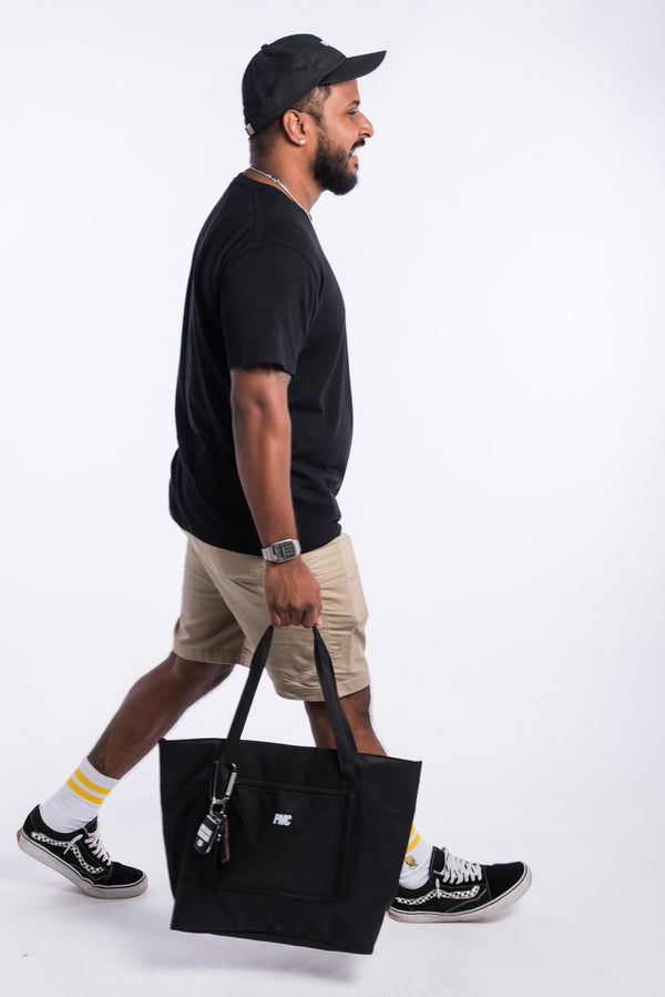 Strike Logo Tote Bag Black