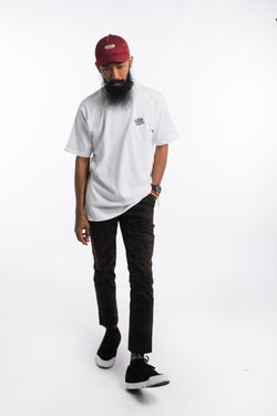 Flying Mechanic Tee White