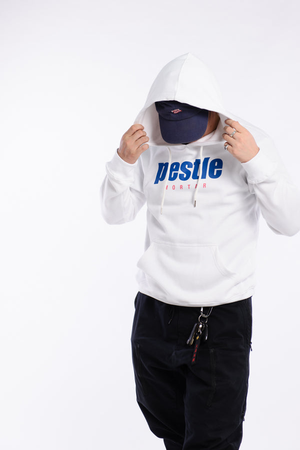 Grand Slam Logo Hoodie White (Pre-Orders Only)