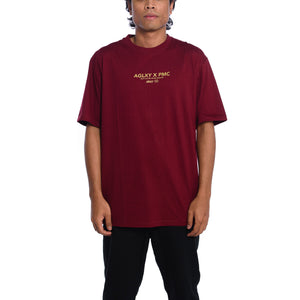National Emblems Tee Maroon