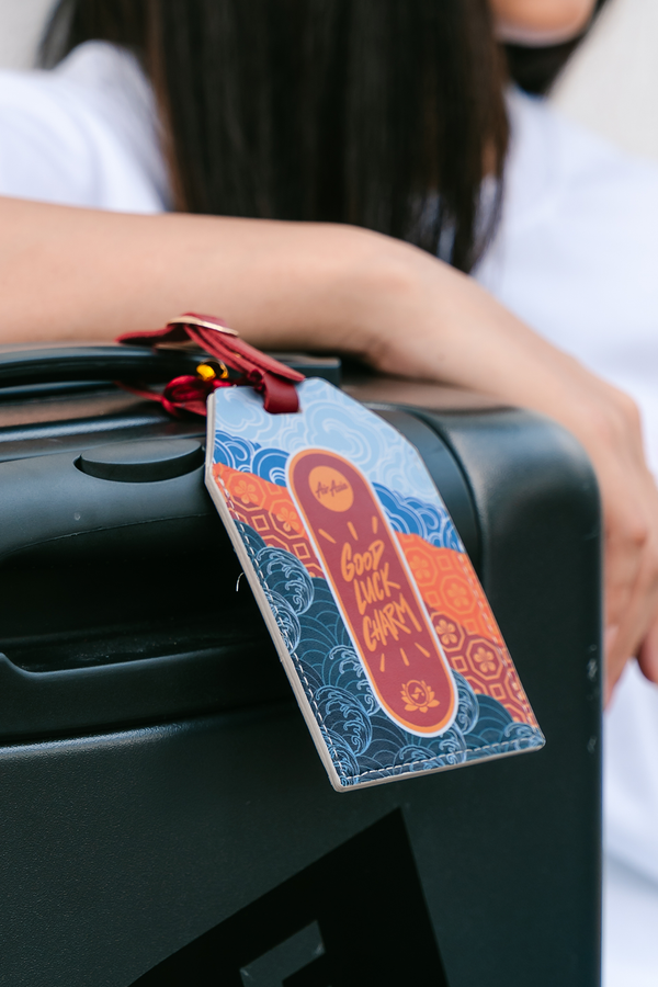 PMC x AirAsia Lucky Charm Luggage Tag