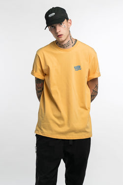 Flying Mechanic Tee Amber Yellow