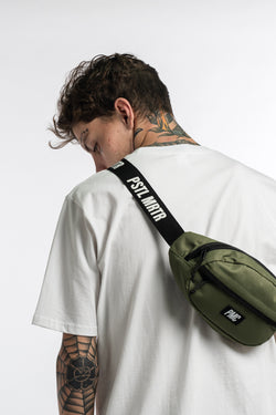 Strike Logo Bum Bag Green