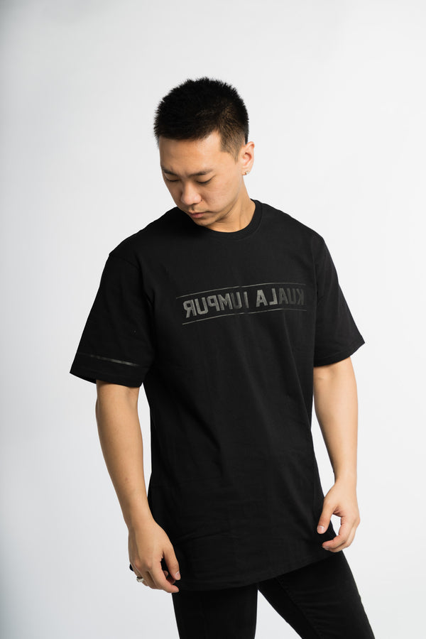 KL Reverse Tee Murdered Out Black