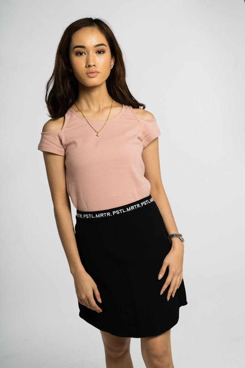 Halcyon Mini Skirt Onyx